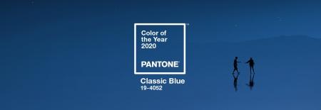 Clssic Blue, kleur van het jaar 2020